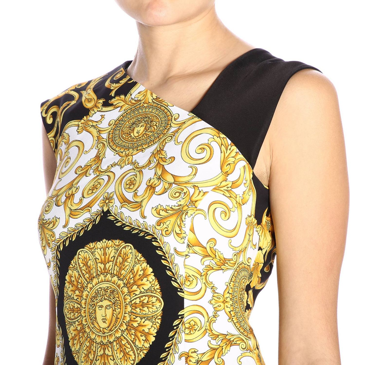 Dress women Versace multicolor 4