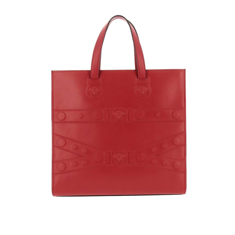 Shoulder bag women Versace red 1