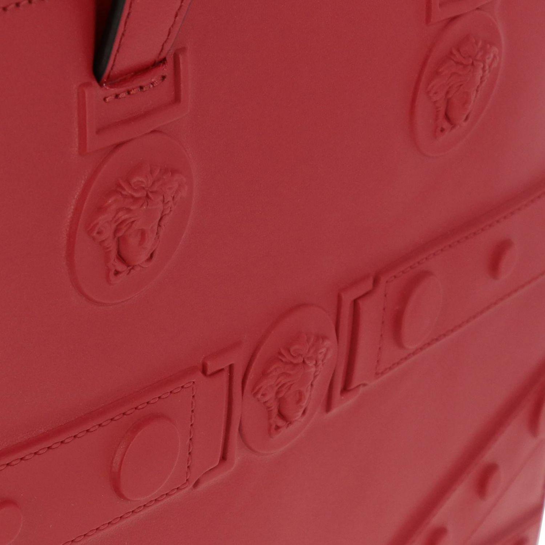 Shoulder bag women Versace red 4
