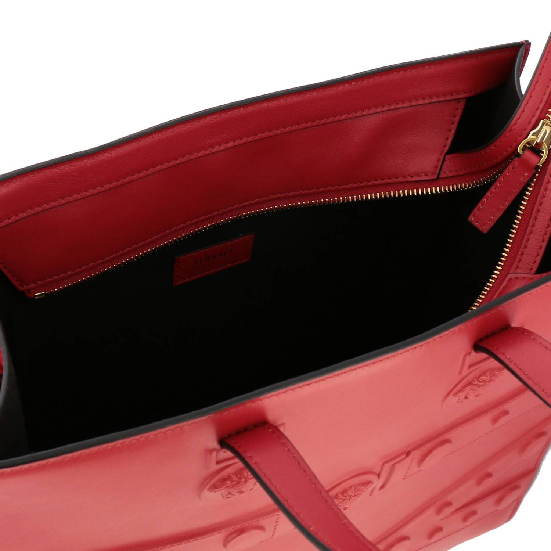 Shoulder bag women Versace red 5