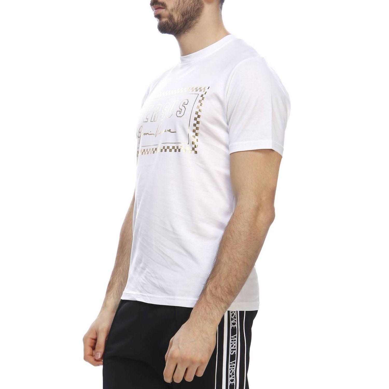 T-shirt men Versus white 2