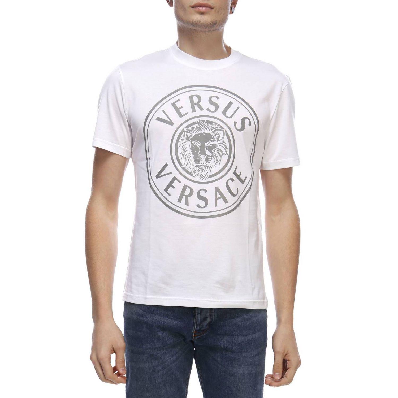 T-shirt men Versus white 1