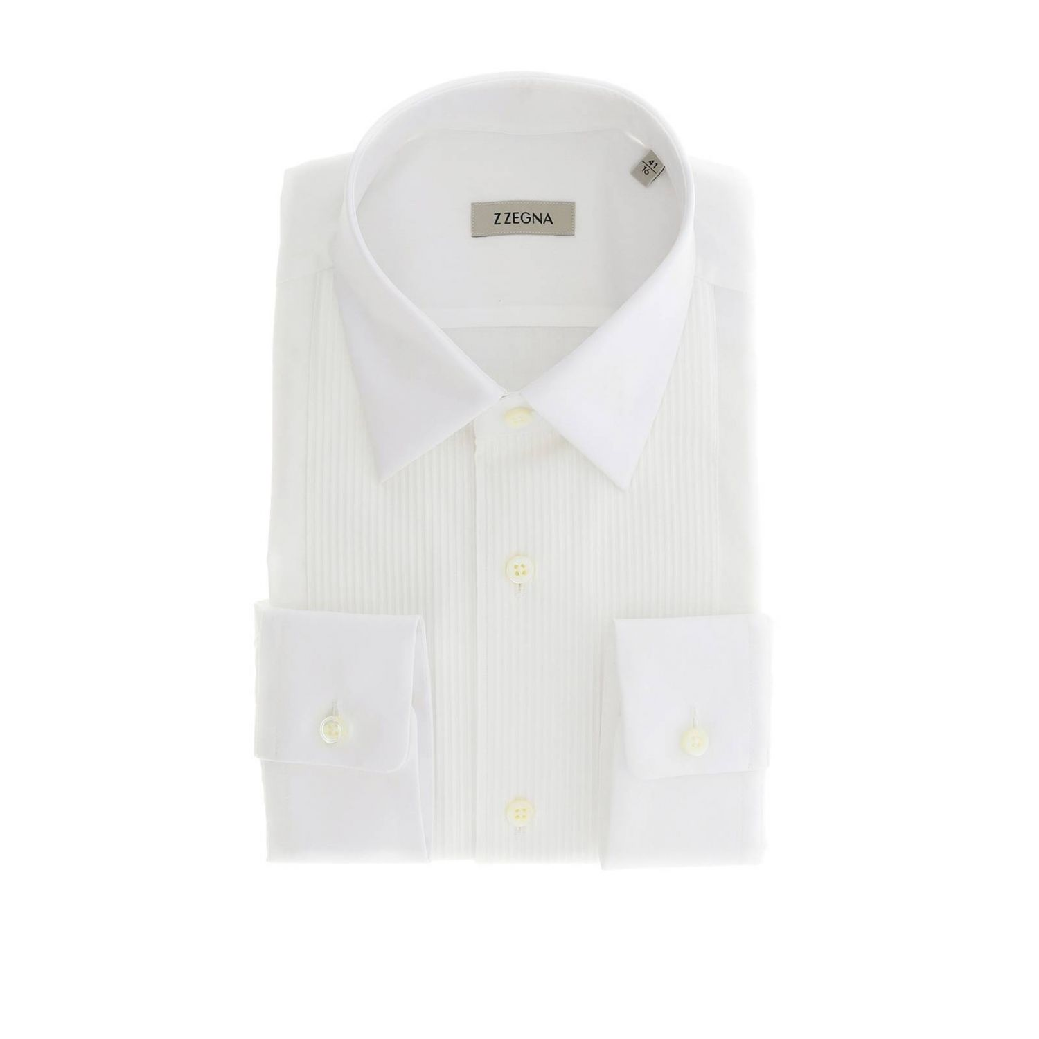 Shirt men Z Zegna white 1