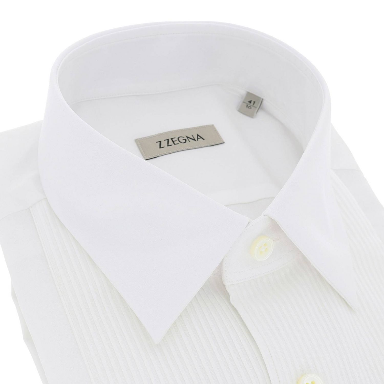 Shirt men Z Zegna white 2