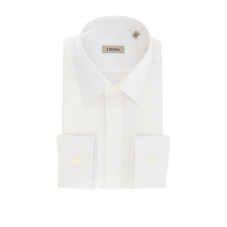 Camisa hombre Z Zegna blanco 1
