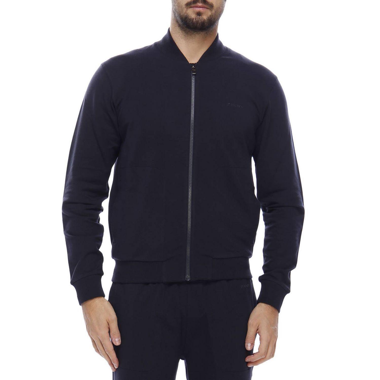 Pullover herren Z Zegna blau 1