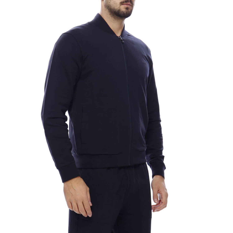 Pullover herren Z Zegna blau 2