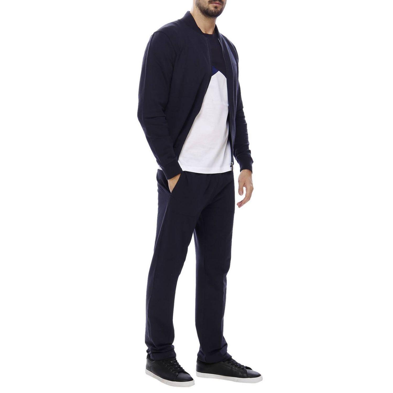 Pullover herren Z Zegna blau 4