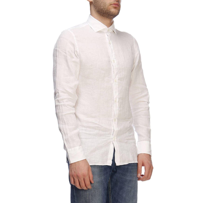Camisa hombre Z Zegna blanco 2