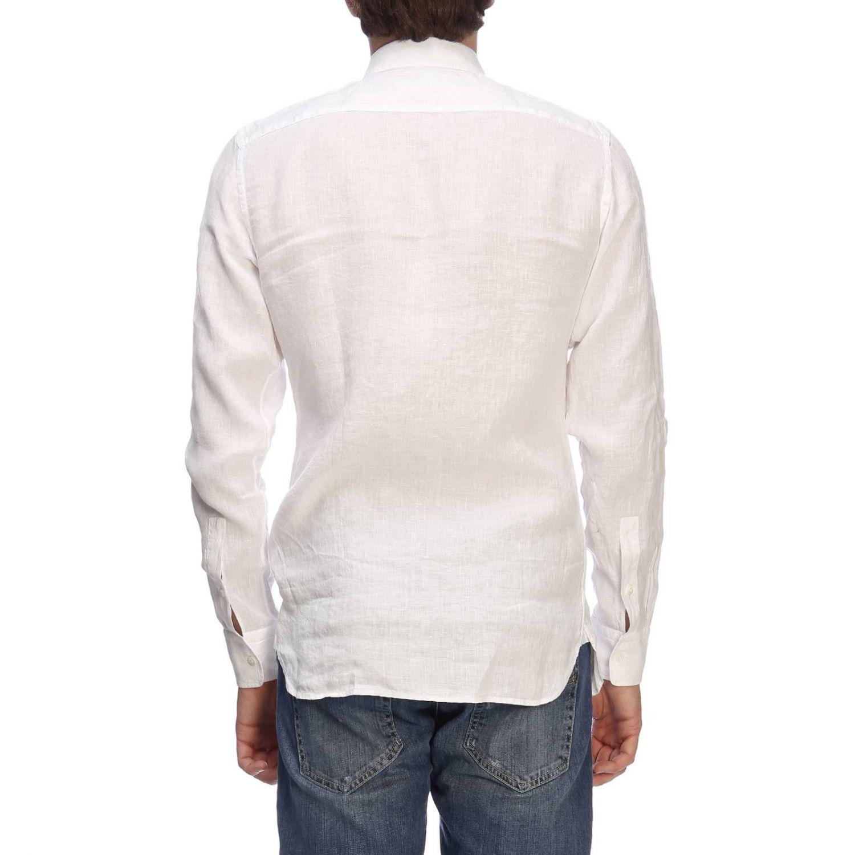 Camisa hombre Z Zegna blanco 3