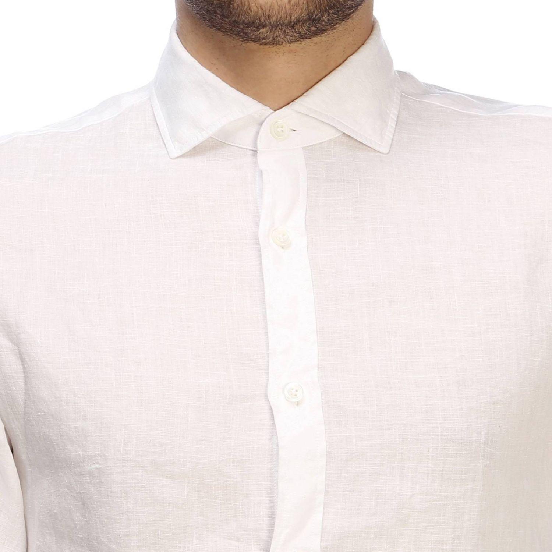 Camisa hombre Z Zegna blanco 4