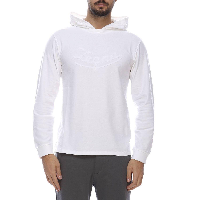 Sweater men Ermenegildo Zegna white 1