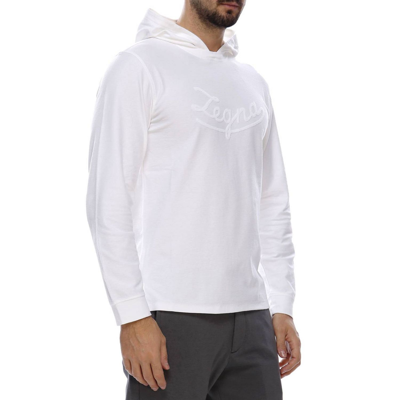 Sweater men Ermenegildo Zegna white 2