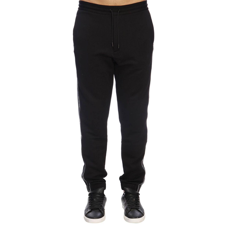 Trousers Ermenegildo Zegna: Trousers men Ermenegildo Zegna black 1