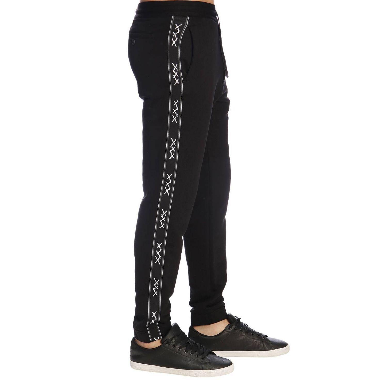 Trousers Ermenegildo Zegna: Trousers men Ermenegildo Zegna black 2