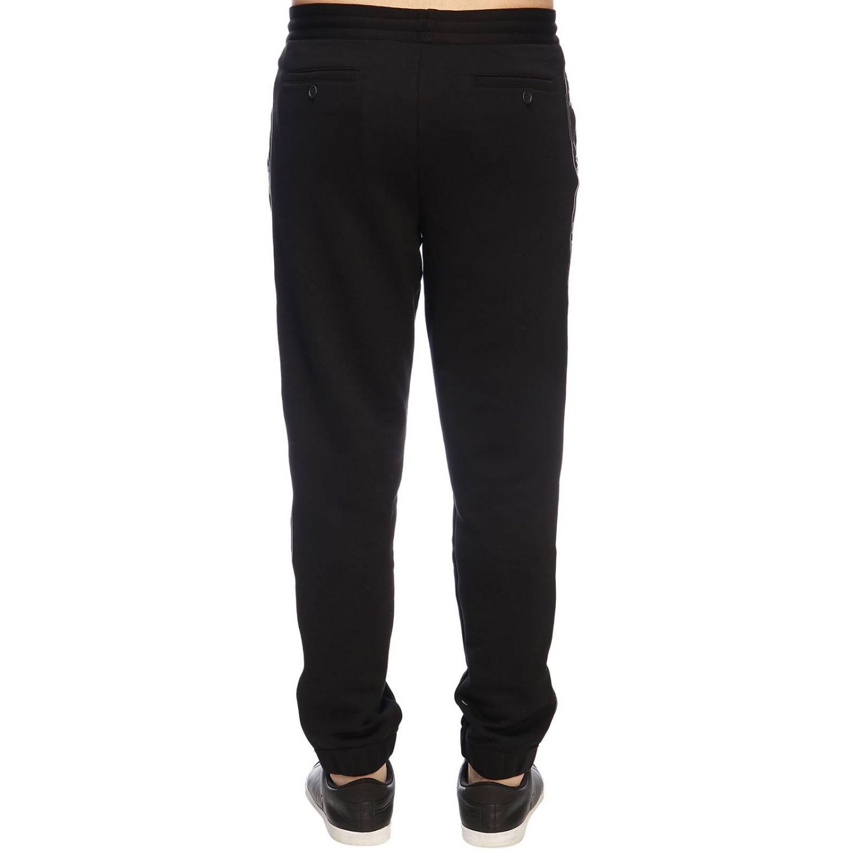 Trousers Ermenegildo Zegna: Trousers men Ermenegildo Zegna black 3