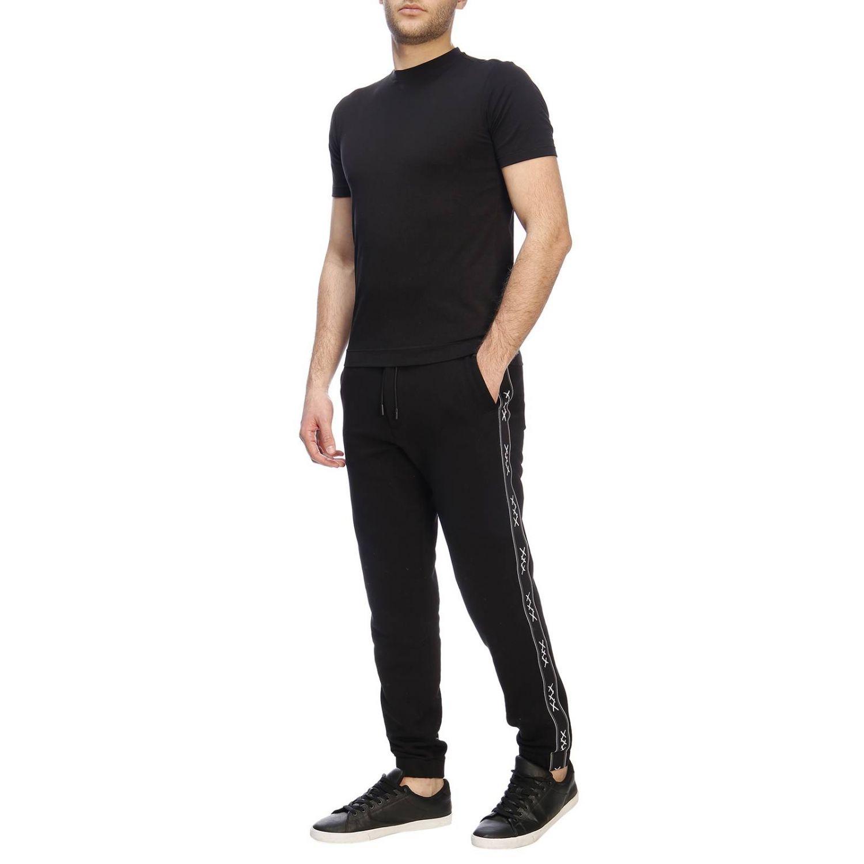 Trousers Ermenegildo Zegna: Trousers men Ermenegildo Zegna black 4