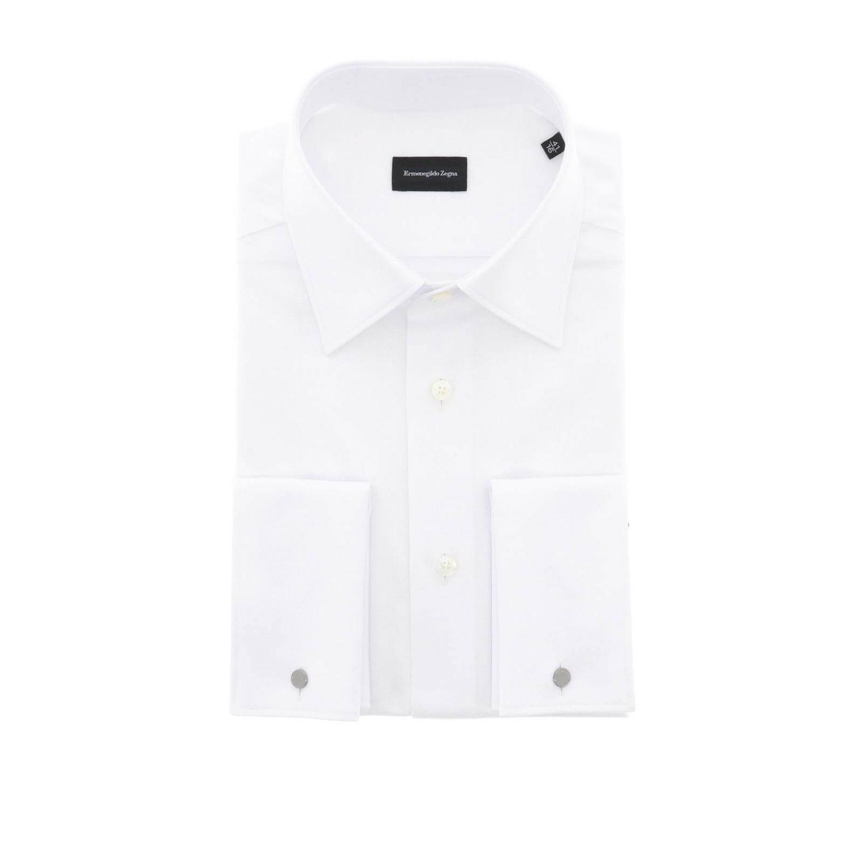 衬衫 男士 Ermenegildo Zegna 白色 1