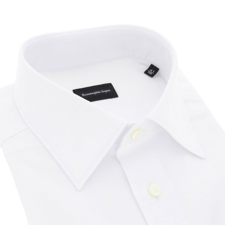 衬衫 男士 Ermenegildo Zegna 白色 2