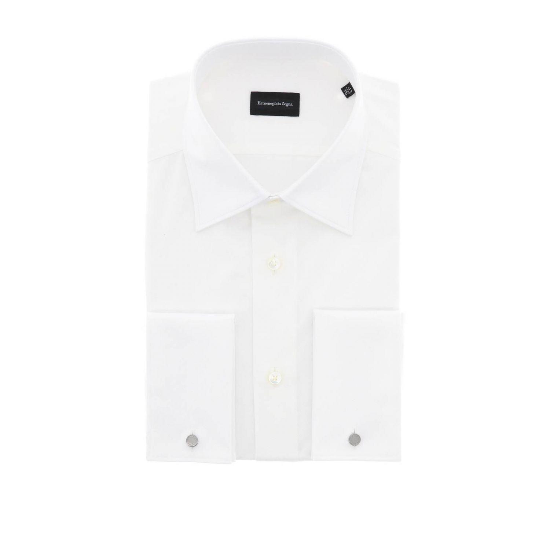 Shirt men Ermenegildo Zegna white 1
