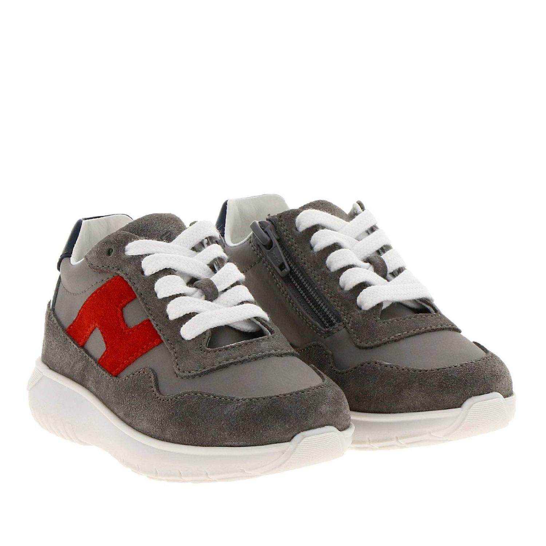 Chaussures Hogan Baby: Chaussures enfant Hogan Baby gris 2