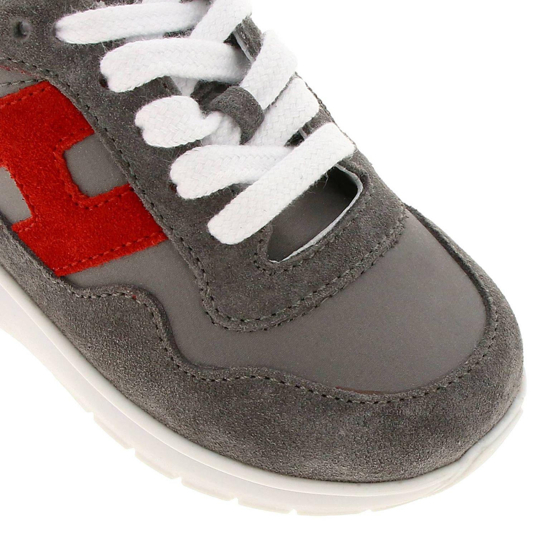 Chaussures Hogan Baby: Chaussures enfant Hogan Baby gris 3