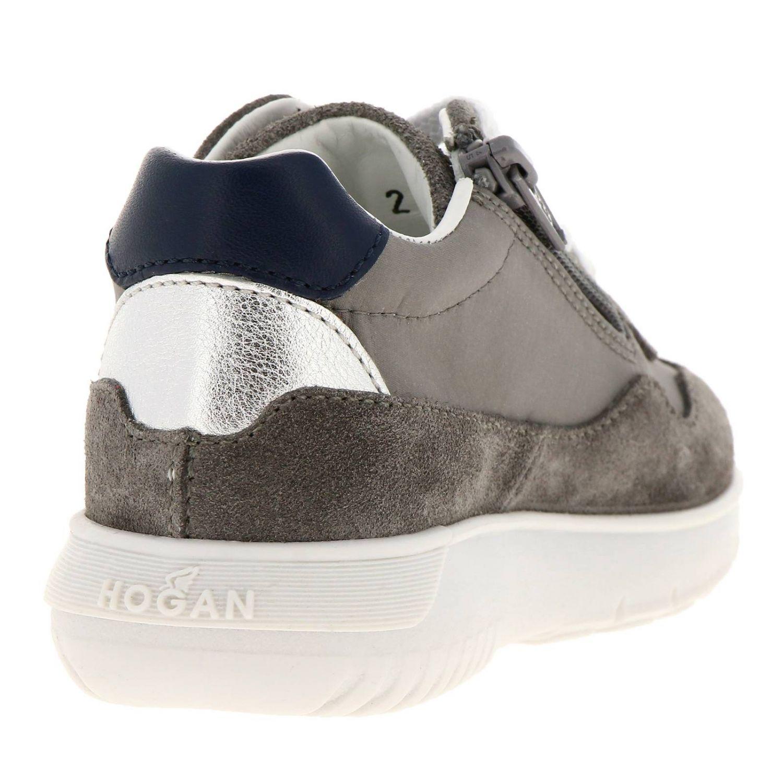 Chaussures Hogan Baby: Chaussures enfant Hogan Baby gris 4
