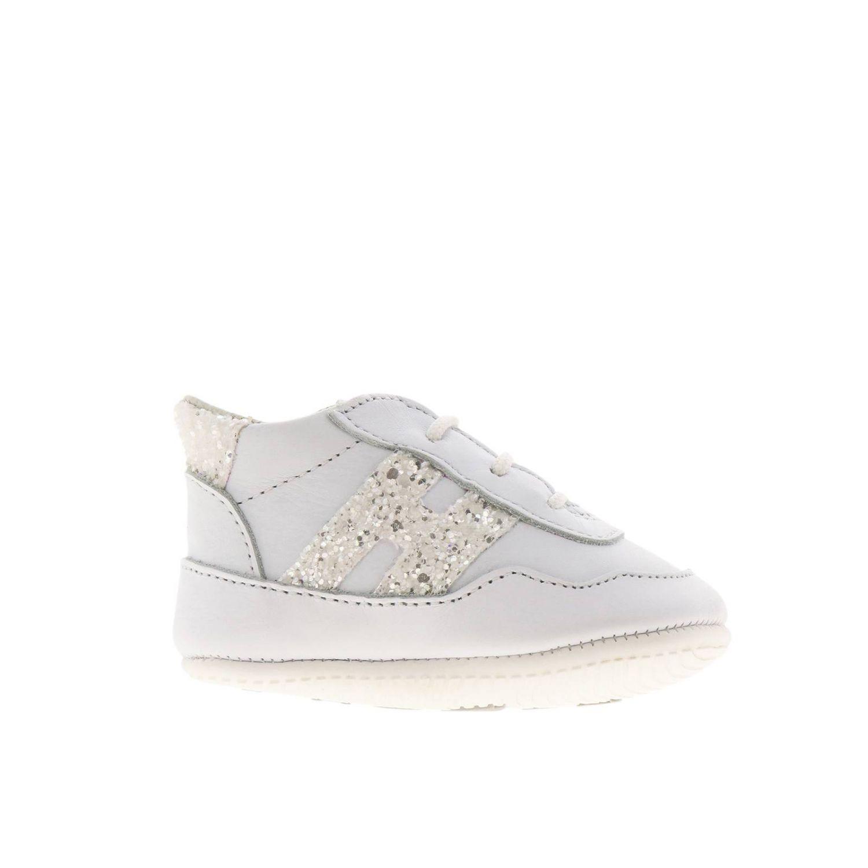 Zapatos niños Hogan blanco 1