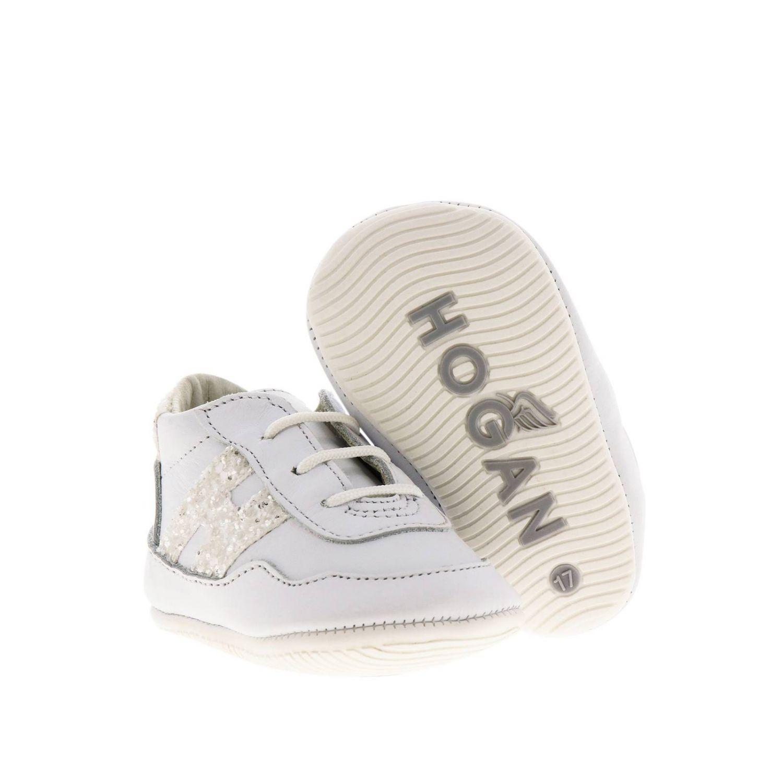Zapatos niños Hogan blanco 2