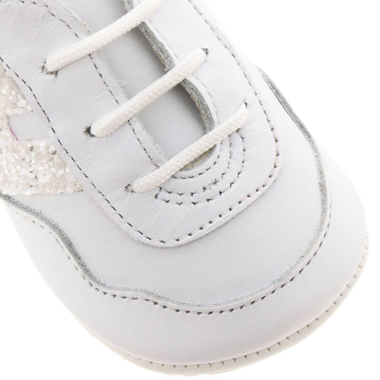 Zapatos niños Hogan blanco 3