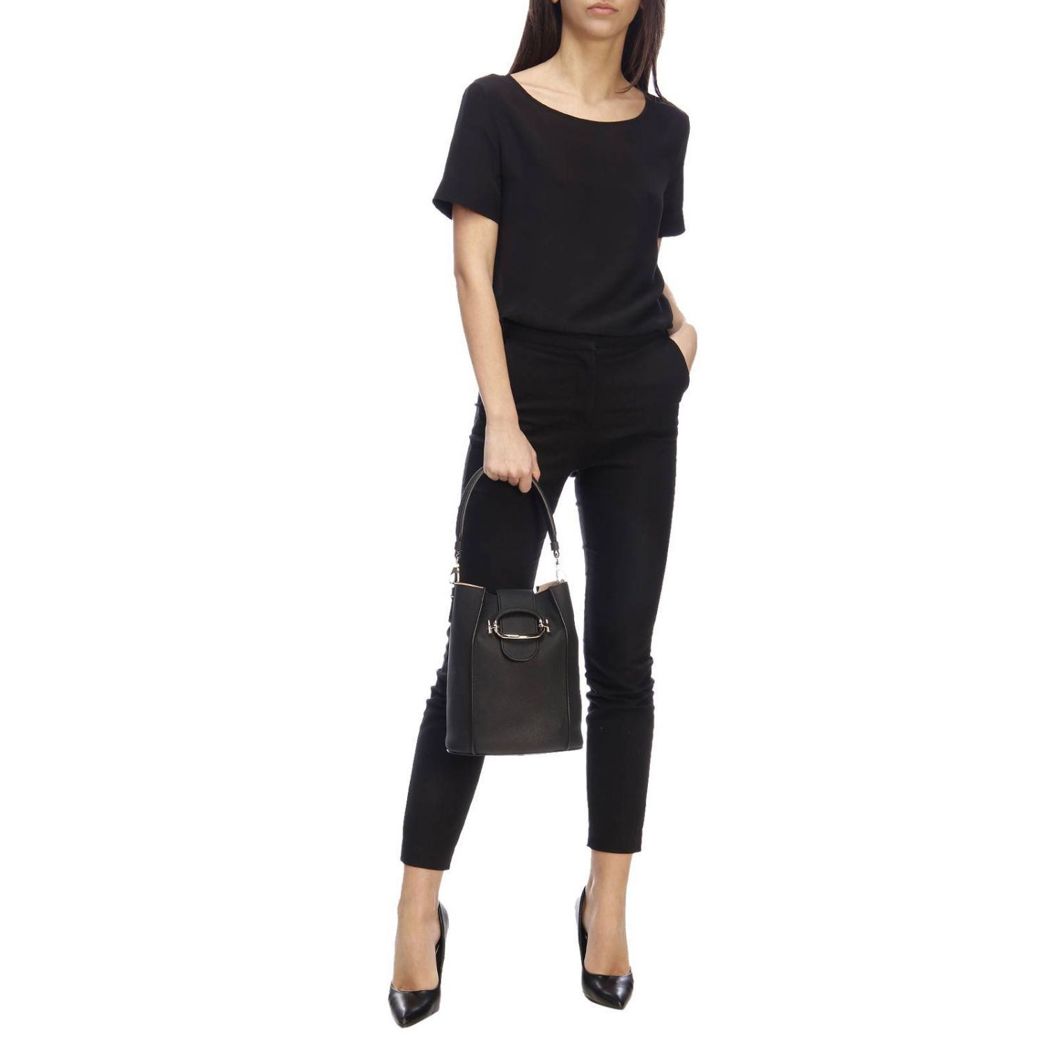 Shoulder bag women Tod's black 2