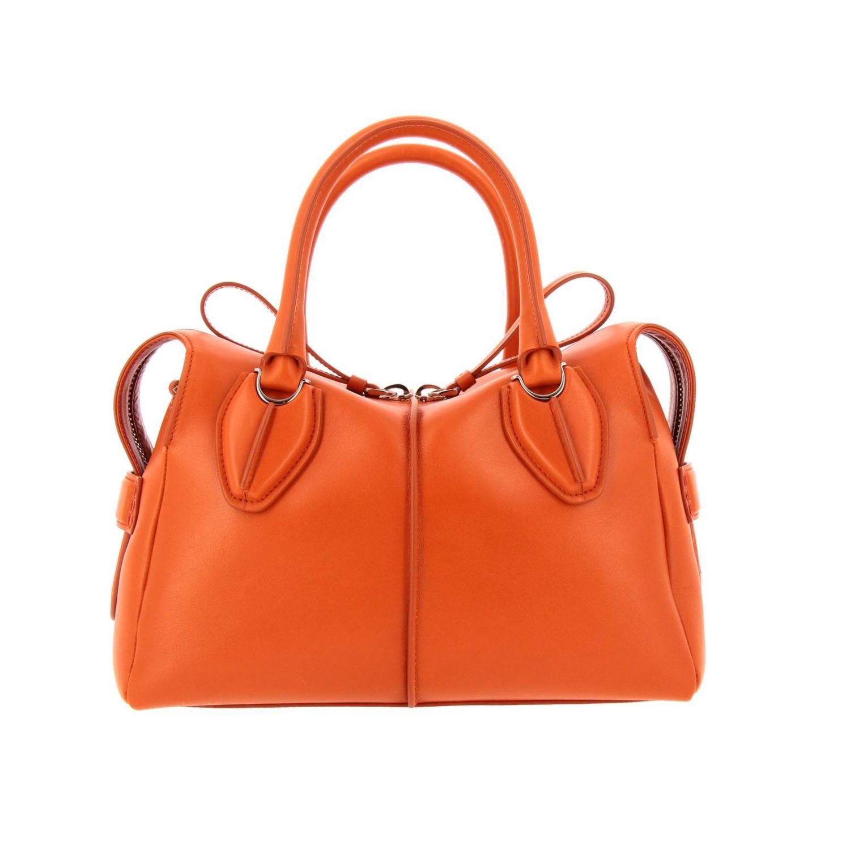 Handtasche Tods: Schultertasche damen Tod's orange 1
