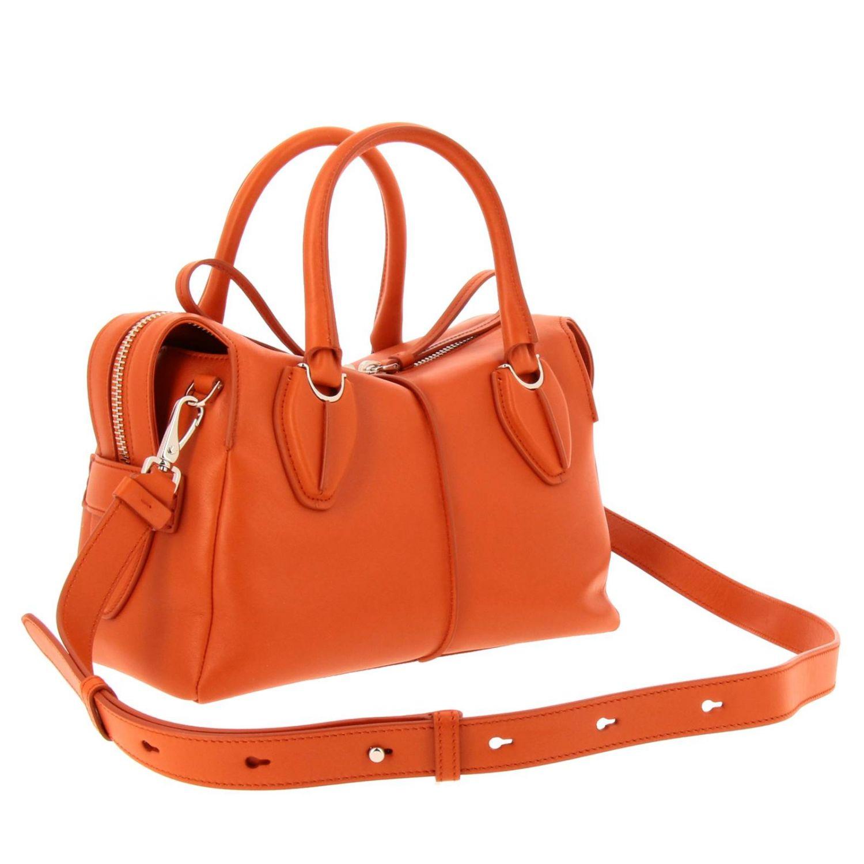Handtasche Tods: Schultertasche damen Tod's orange 3