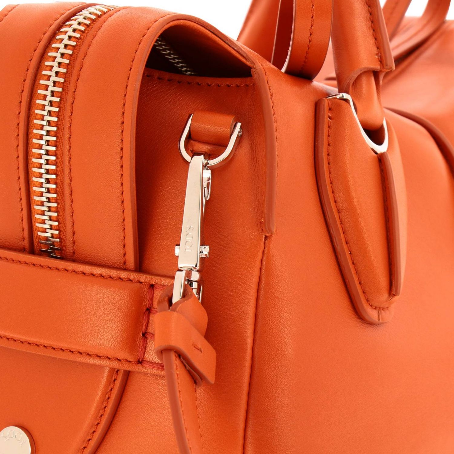 Handbag Tods: Shoulder bag women Tod's orange 4