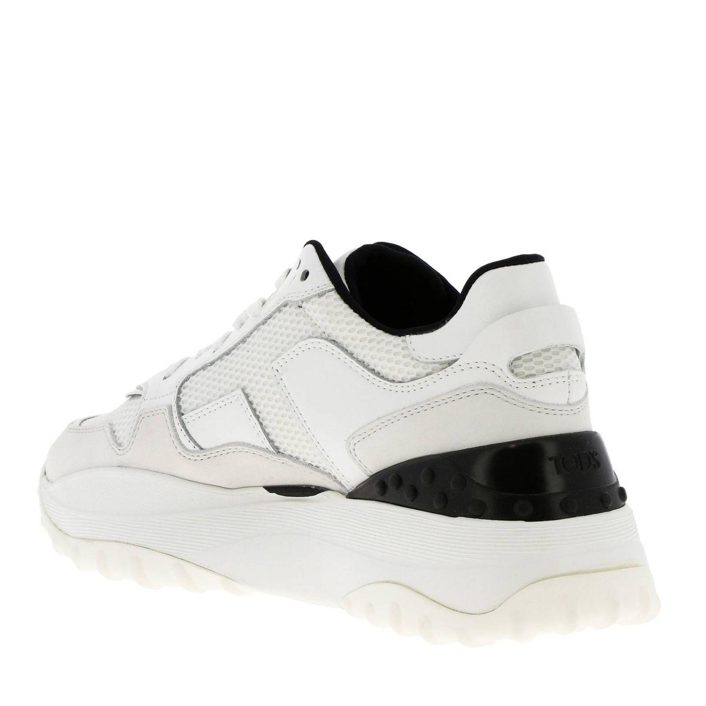 Спортивная обувь Tods: Обувь Женское Tod's белый 1 3