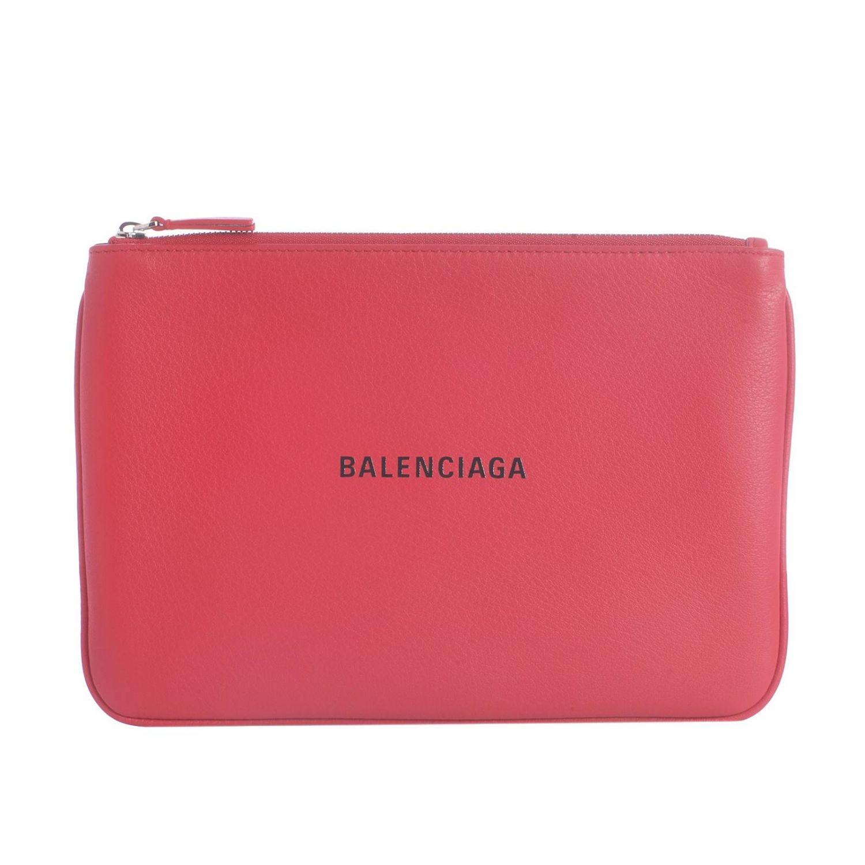 Shoulder bag women Balenciaga red 1