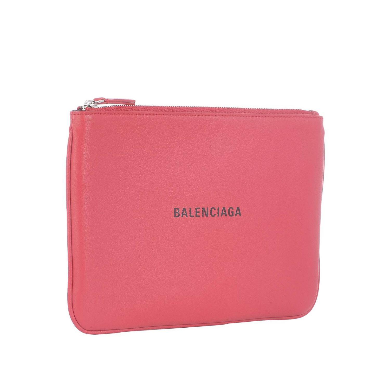 Shoulder bag women Balenciaga red 2