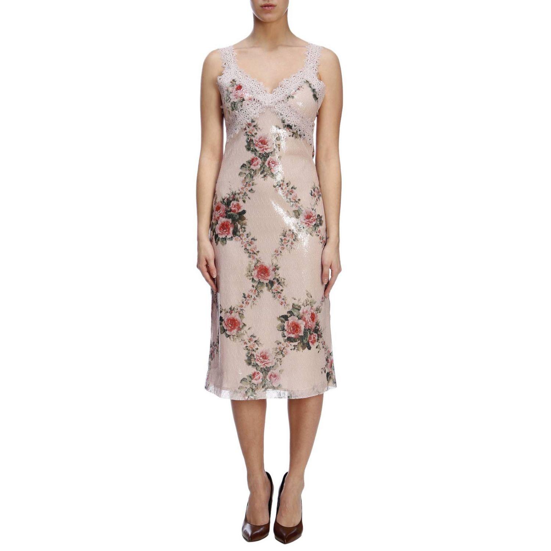 Vestido mujer Blumarine rosa pálido 1