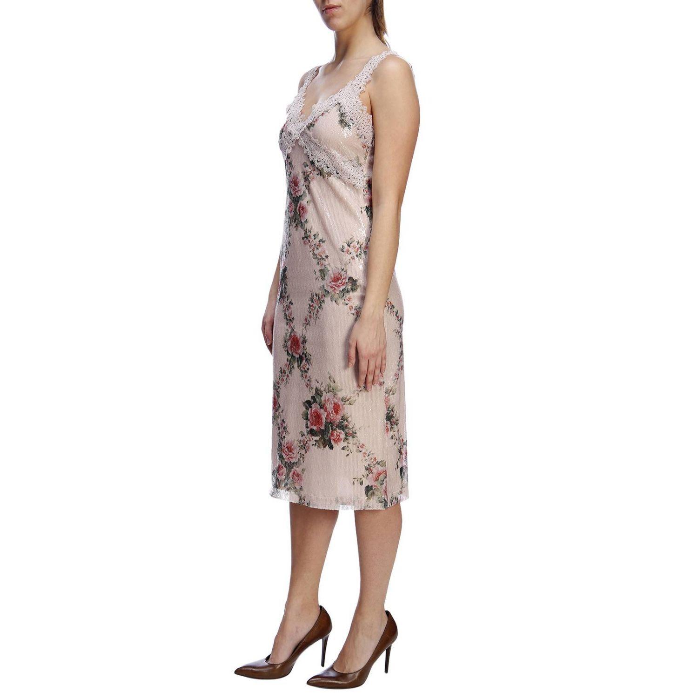 Vestido mujer Blumarine rosa pálido 2