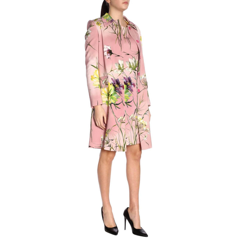 大衣 女士 Blumarine 粉色 4