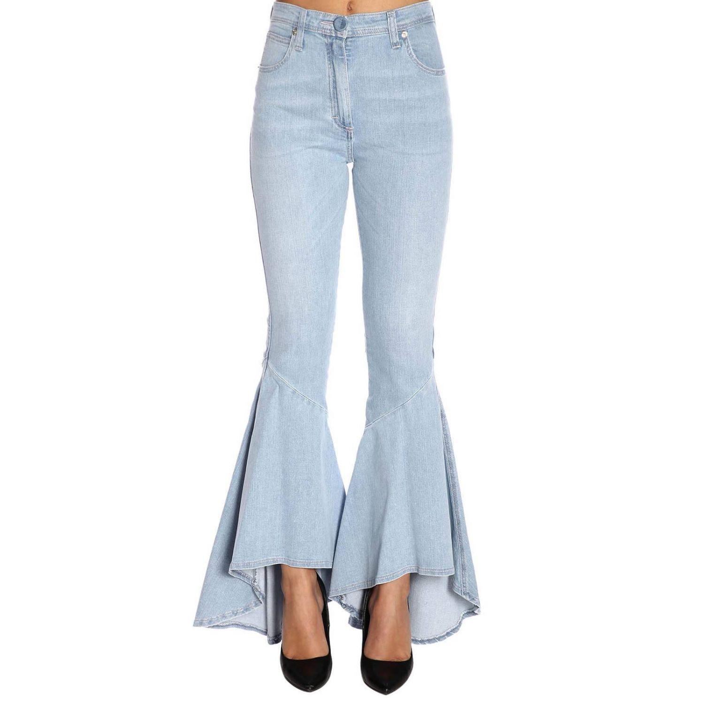 Jeans femme Blumarine délavé 1