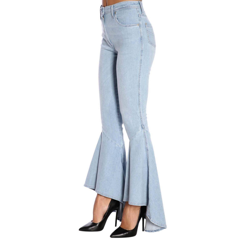 Jeans femme Blumarine délavé 2