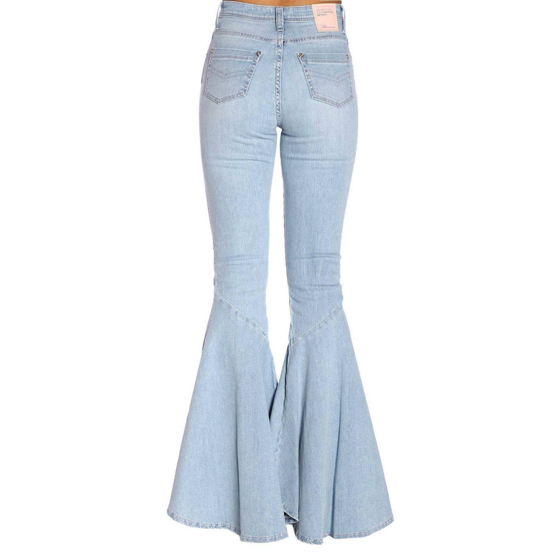 Jeans femme Blumarine délavé 3