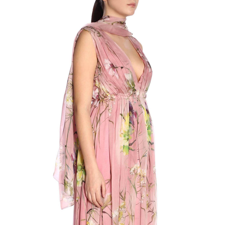 Foulard femme Blumarine rose 1