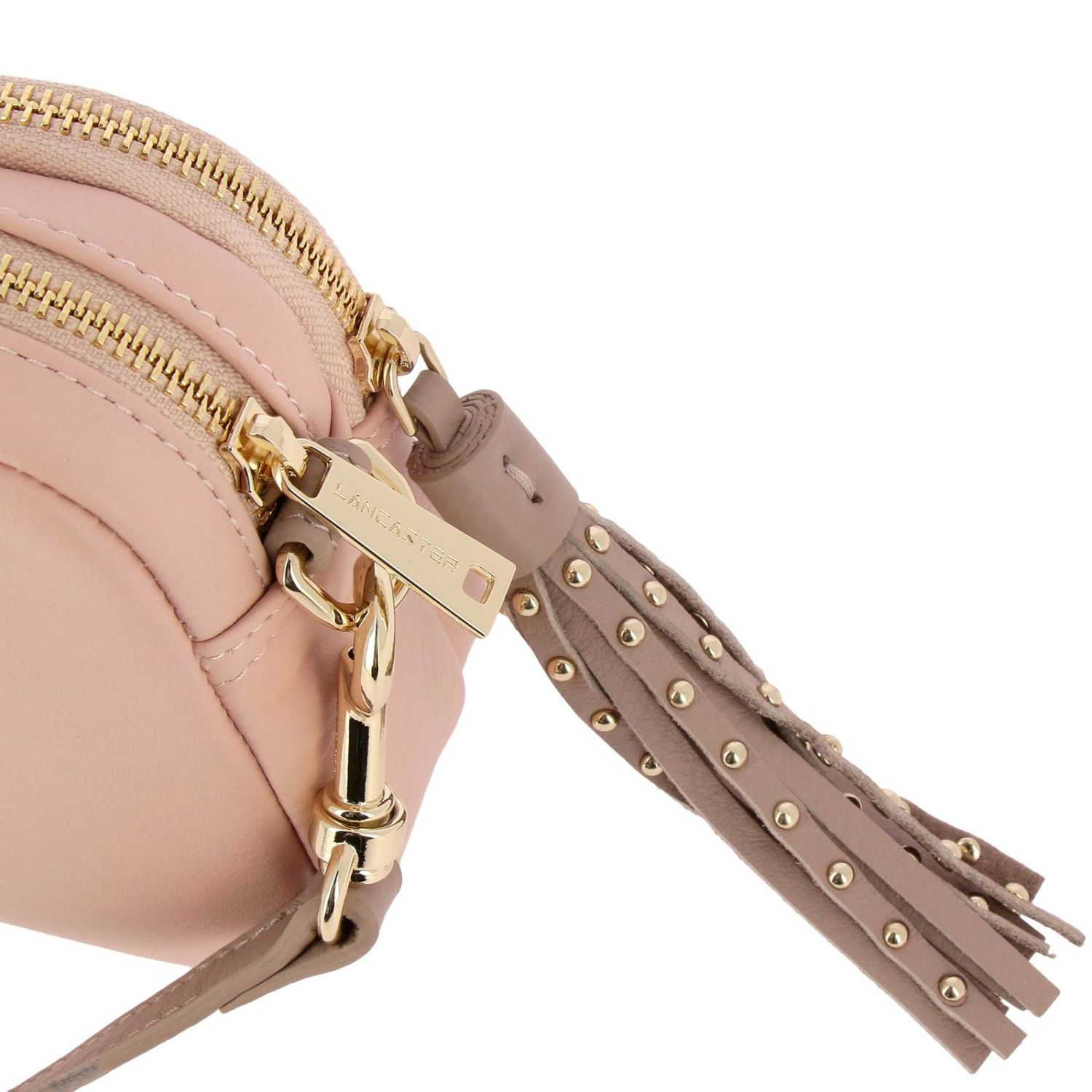 Shoulder bag women Lancaster Paris pink 4