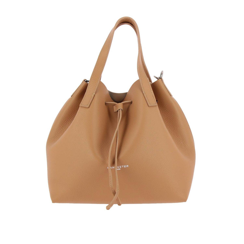 Shoulder bag women Lancaster Paris beige 1