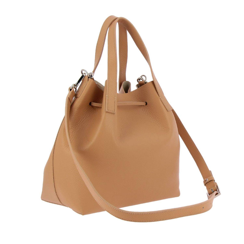 Shoulder bag women Lancaster Paris beige 3