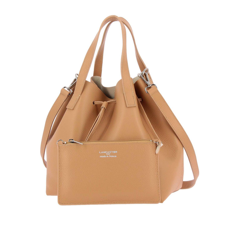 Shoulder bag women Lancaster Paris beige 4