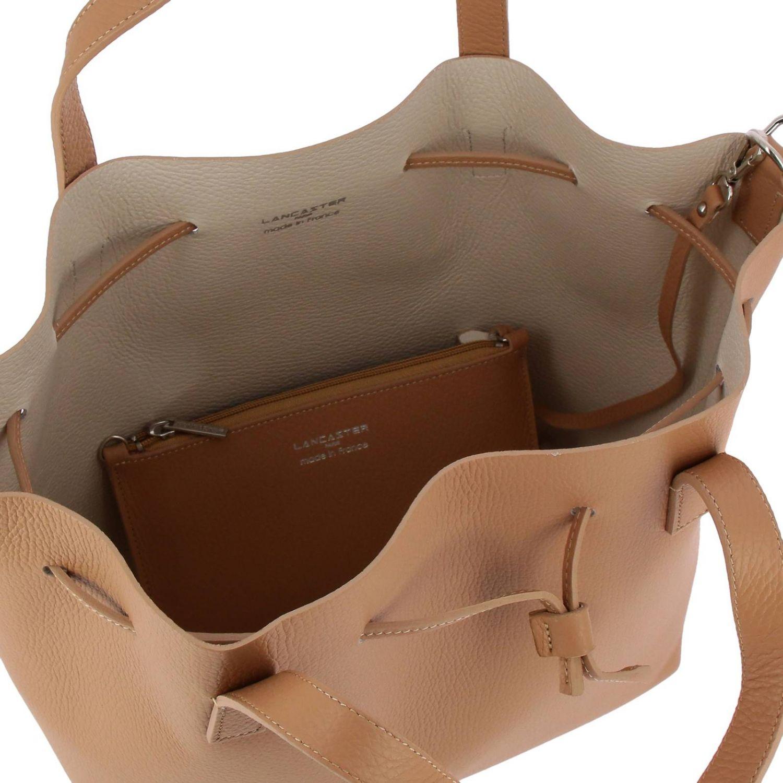 Shoulder bag women Lancaster Paris beige 5