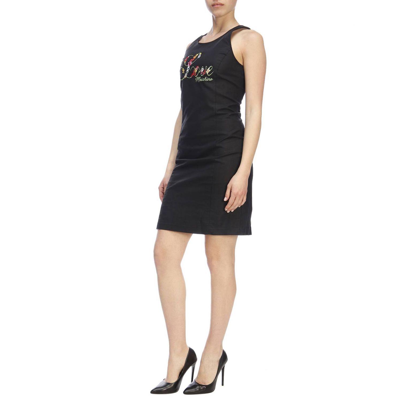 Dress women Moschino Love black 4